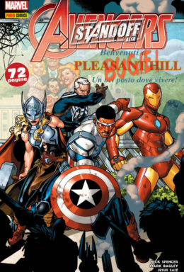 Copertina di Marvel Miniserie 173 – Avengers Standoff Alfa: Benvenuti a Pleasant Hill