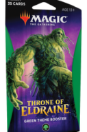 Magic The Gathering Throne of Eldraine Theme Booster Verde