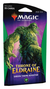 Copertina di Magic The Gathering Throne of Eldraine Theme Booster Verde