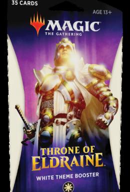 Copertina di Magic The Gathering Throne of Eldraine Theme Booster Bianco