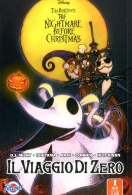 Copertina di Disney Planet presenta: Tim Burton's The Nightmare Before Christmas – Il Viaggio Zero