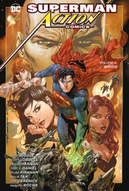 Copertina di New 52 Limited – Superman Action Comics Vol.4: Ibrido
