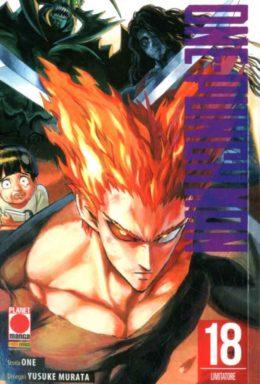 Copertina di One-Punch Man n.18
