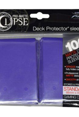 Copertina di Ultra Pro PRO-Matte Eclipse Standard 100pz Viola