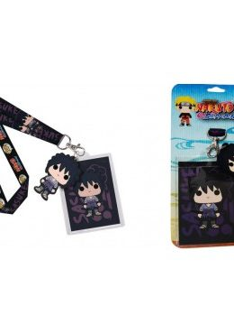 Copertina di Naruto Shippuden Sasuke Uchiha Lanyard Funko Pop!