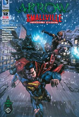 Copertina di Arrow/Smallville n.12