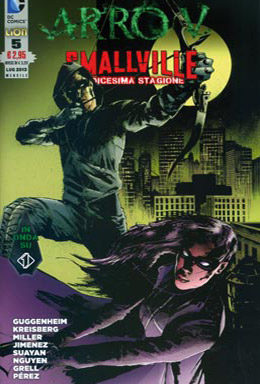 Copertina di Arrow/Smallville n.5