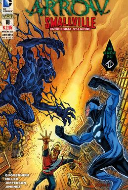Copertina di Arrow/Smallville n.18