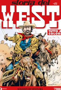 Copertina di Storia del West n.7 – Soldati di ventura