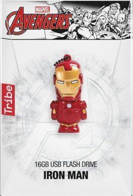 Copertina di Marvel Avengers Iron Man USB Flash Drive 16GB