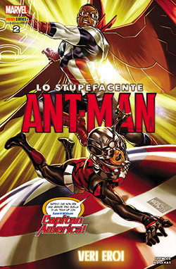 Copertina di Marvel Heroes 6 – Lo stupefacente Ant-man n.2