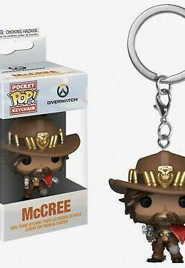 Copertina di McCree – Overwatch – Pocket Pop Keychain