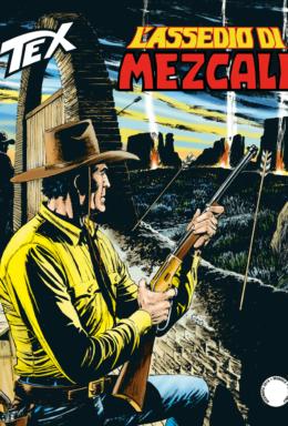Copertina di Tex n.710 – L'assedio di Mezcali