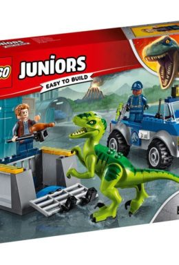 Copertina di Lego 10757 – Juniors – Jurassic World – Raptor Rescue Truck