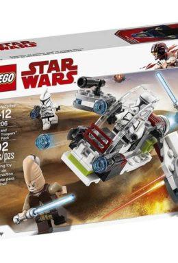 Copertina di Lego 75206 – Star Wars – Battle Pack Jedi E Clone Troopers