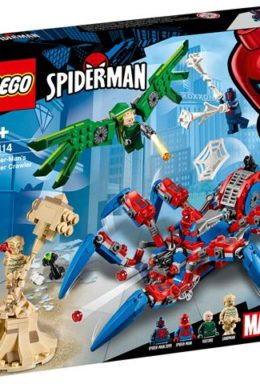 Copertina di Marvel: Lego 76114 – Super Heroes – Crawler Di Spider-Man