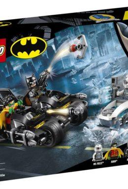 Copertina di Dc Comics: Lego 76118 – Super Heroes – Batman Battaglia Sul Bat-Ciclo Con Mr. Freeze