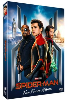 Copertina di Spider-Man: Far From Home – DVD
