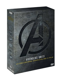 Copertina di Avengers Collection (4 Dvd)