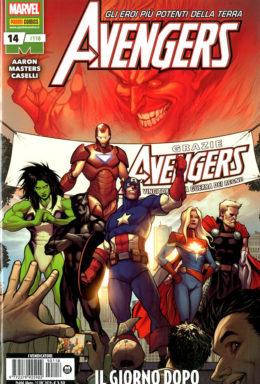 Copertina di Avengers n.118