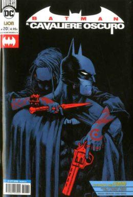 Copertina di Batman – Il Cavaliere Oscuro n.20 Rinascita
