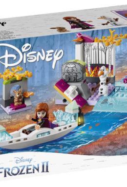 Copertina di Lego 41165 – Principesse Disney – Frozen 2 – Spedizione Sulla Canoa Di Anna