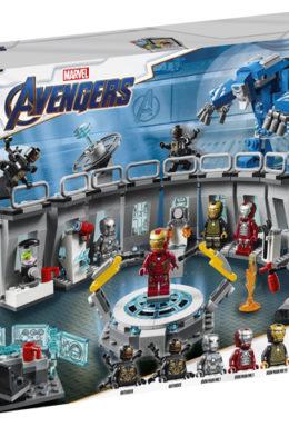 Copertina di Marvel: Lego 76125 – Super Heroes – Iron Man – Sala Delle Armature