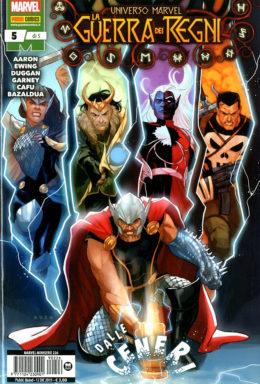 Copertina di Universo Marvel – La Guerra Dei Regni n.5