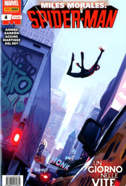 Copertina di Miles Morales: Spider Man n.4