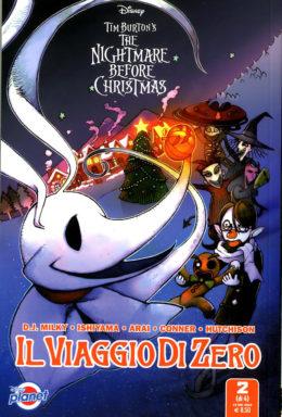 Copertina di Nightmare Before Christmas – Il Viaggio Di Zero n.2