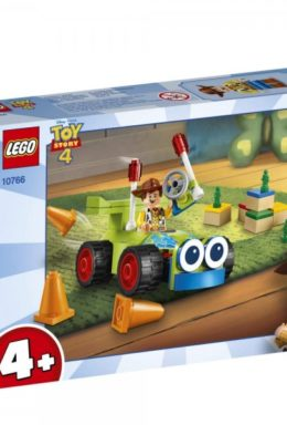 Copertina di Lego 10766 – Juniors – Toy Story 4 – Woody & RC
