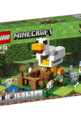 Copertina di Lego 21140 – Minecraft – Il Pollaio