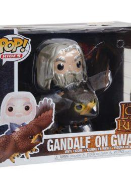 Copertina di Gandalf on Gwaihir Funko Pop