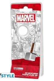 Marvel Thor Hammer Mjolnir Keychain