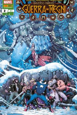 Copertina di Universo Marvel – La Guerra dei Regni n.2