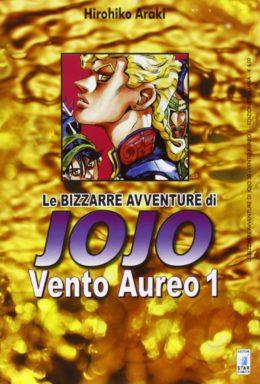 Copertina di Vento Aureo – Le bizzarre avventure di Jojo – Saga Completa