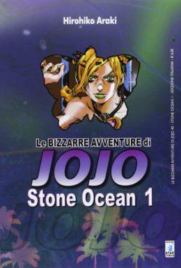 Copertina di Stone Ocean – Le bizzarre avventura di Jojo – Saga Completa