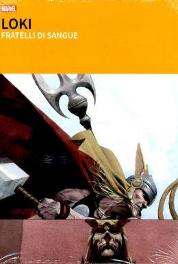 Copertina di Grandi Tesori Marvel: Loki – Fratelli di Sangue