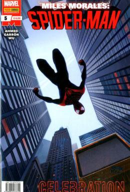 Copertina di Miles Morales: Spider-Man n.5