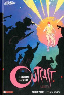 Copertina di Outcast n.7 – Cartonato
