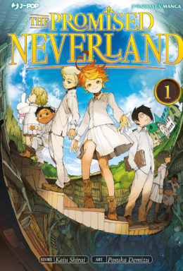 Copertina di The Promised Neverland – Saga Completa