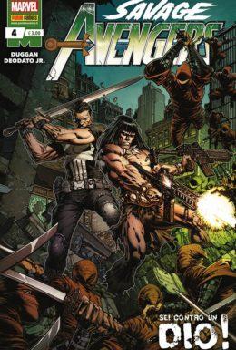 Copertina di Savage Avengers n.4