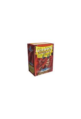 Copertina di Dragon Shield – Classic Red 100 pz
