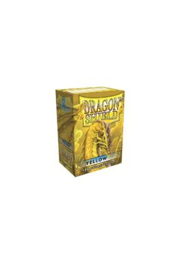 Copertina di Dragon Shield – Classic Yellow 100 pz