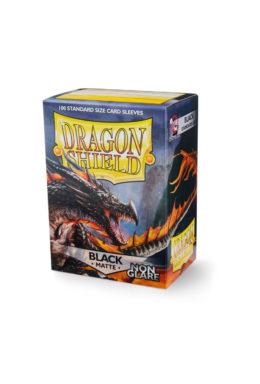 Copertina di Dragon Shield – Matte NonGlare Black 100 pz