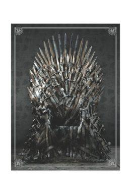 Copertina di Game Of Thrones Iron Throne Puzzle