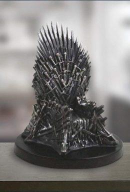 Copertina di Game Of Thrones Iron Throne Replica
