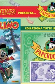 Supertopolino n.3346 Con raccoglitore di Paperdollari e una banconota