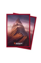 Ultra Pro – MTG – Unstable Lands Sleeves – Mountain