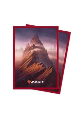 Copertina di Ultra Pro – MTG – Unstable Lands Sleeves – Mountain